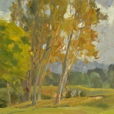 """American Legacy Fine Arts presents """"Morning Greeting"""" a painting by Mian Situ."""