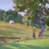 """American Legacy Fine Arts presents """"Afternoon Light"""" a painting by Stephen Mirich."""