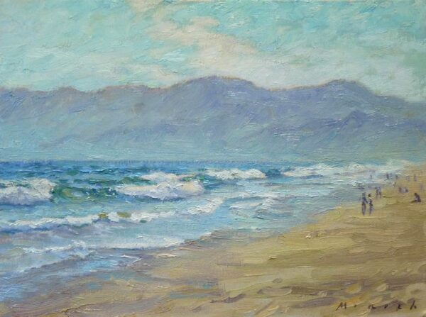 """American Legacy Fine Arts presents """"Lazy Summer Afternoon"""" a painting by Stephen Mirich."""