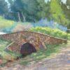 "American Legacy Fine Arts presents ""Little Stone Bridge"" a painting by Stephen Mirich."