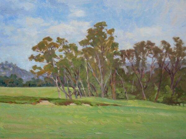 """American Legacy Fine Arts presents """"Morning Sky"""" a painting by Stephen Mirich."""