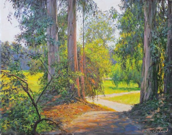 "American Legacy Fine Arts presents ""LACC 8"" a painting by Alexander V. Orlov."