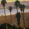"""American Legacy Fine Arts presents """"Coast Twilight"""" a painting by Michael Obermeyer."""