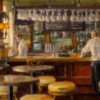 """American Legacy Fine Arts presents """"The Watering Hole"""" a painting by Michael Obermeyer."""