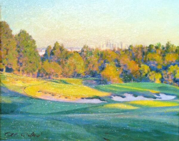 """American Legacy Fine Arts presents """"Late Afternoon"""" a painting by Alexander V. Orlov."""