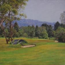 "American Legacy Fine Arts presents ""The Bridge"" a painting by Alexander V. Orlov."