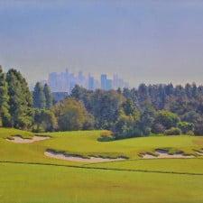 "American Legacy Fine Arts presents ""The Skyline"" a painting by Alexander V. Orlov."