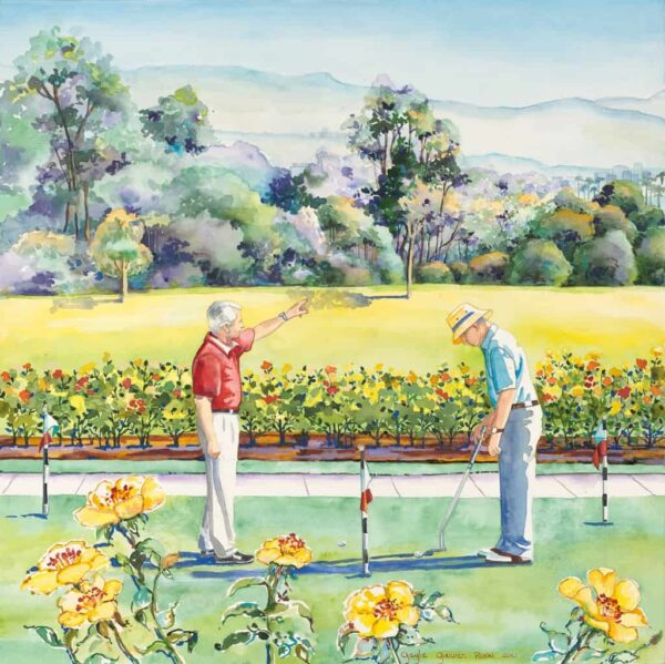 """American Legacy Fine Arts presents """"Captain Thomas Rose"""" a painting by Gayle Garner Roski."""