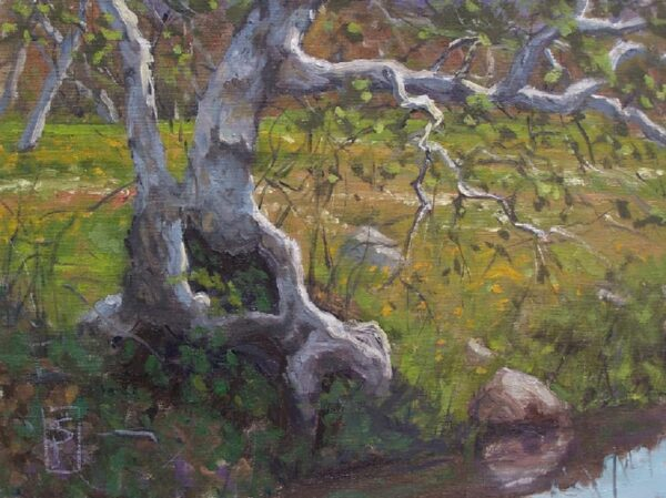 """American Legacy Fine Arts presents """"Growth from Within"""" a painting by Scott W. Prior."""