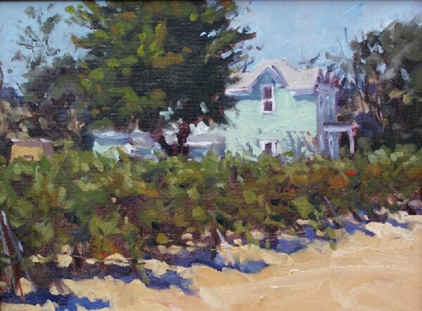 """American Legacy Fine Arts presents """"Sonoma Farmhouse"""" a painting by Scott W. Prior."""