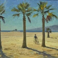 "American Legacy Fine Arts presents ""Noon, Santa Monica"" a painting by Mian Situ."