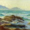 """American Legacy Fine Arts presents """"Late Afternoon"""" a painting by Stephen Mirich."""