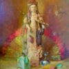 "American Legacy Fine Arts presents ""Kwan Yin"" a painting by Theodore N. Lukits."