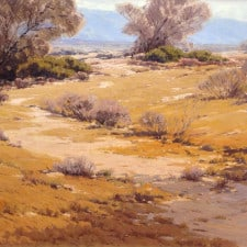"""American Legacy Fine Arts presents """"Desert Pattern"""" a painting by Sam Hyde Harris (1889-1977)."""