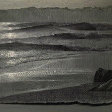 """American Legacy Fine Arts presents """"Light and Wind"""" a drawing by Alexey Steele."""