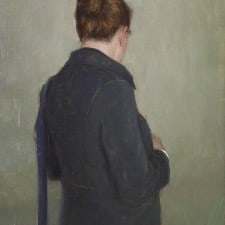 """American Legacy Fine Arts presents """"Going Out"""" a painting by Aaron Westerberg."""