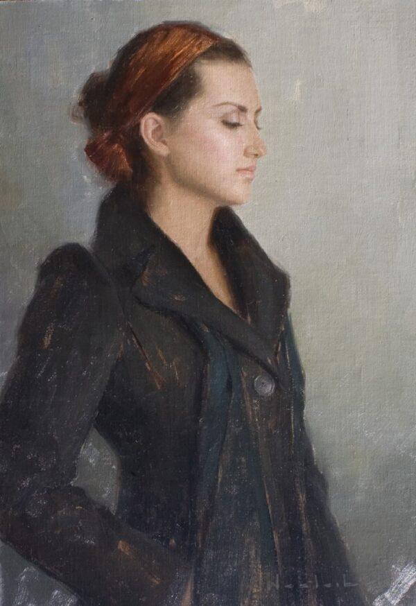 "American Legacy Fine Arts presents ""Jocelyn"" a painting by Aaron Westerberg."