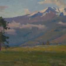 """American Legacy Fine Arts presents """"New Day"""" a painting by Alexey Steele."""