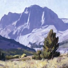 "American Legacy Fine Arts presents ""Carson Peak, Sierra Nevada"" a painting by Frank Serrano."