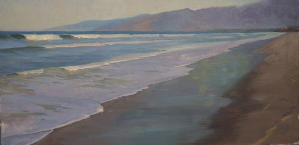 """American Legacy Fine Arts presents """"Serene Hour"""" a painting by Alexey Steele."""