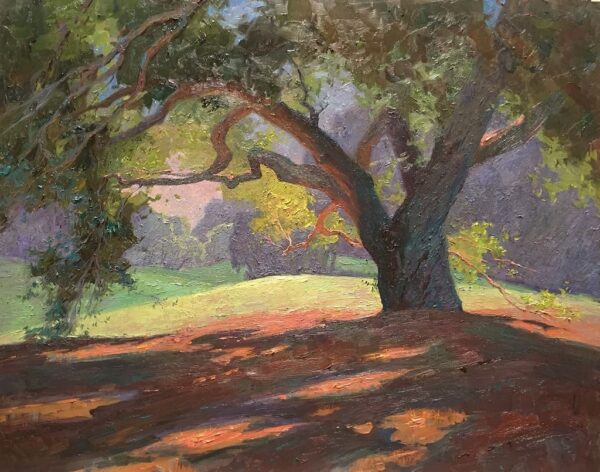 """American Legacy Fine Arts presents """"The Shade of Comfort"""" a painting by Alexey Steele."""