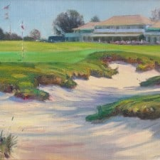 """American Legacy Fine Arts presents """"Afternoon Light"""" a painting by W. Jason Situ."""