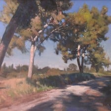 """American Legacy Fine Arts presents """"Sunny Morning"""" a painting by W. Jason Situ."""
