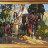 """American Legacy Fine Arts presents """"Family Repose"""" a painting by Tim Solliday."""