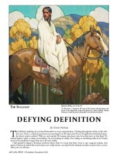 American Legacy Fine Arts presents Tim Solliday featured in Art of the West Magazine.