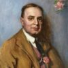 "American Legacy Fine Arts presents ""George C. Thomas"" a painting by Teresa Oaxaca."