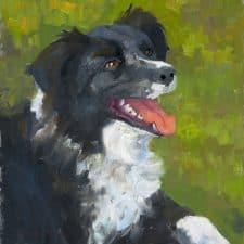 """American Legacy Fine Arts presents """"Kelsie"""" a painting by Peter Adams."""
