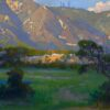 """American Legacy Fine Arts presents """"Quiet Shadow; Arroyo Seco"""" a painting by Peter Adams."""