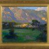 "American Legacy Fine Arts presents ""Quiet Shadows; Arroyo Seco"" a painting by Peter Adams."