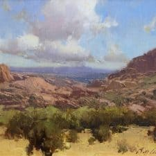"""American Legacy Fine Arts presents """"Prescott Afternoon"""" a painting by Bill Anton"""
