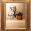 """American Legacy Fine Arts presents """"Wall Flowers"""" a painting by Kate Sammons."""