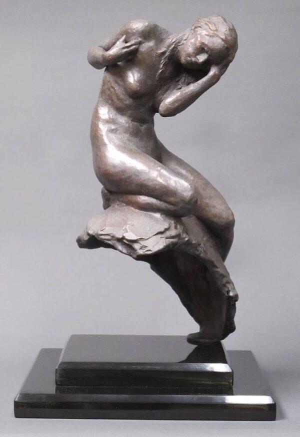 """American Legacy Fine Arts presents """"Cassandra"""" a sculpture by Alicia Ponzio."""