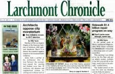 American Legacy Fine Arts presents Peter Adams in Larchmont Chronicle April 2016.