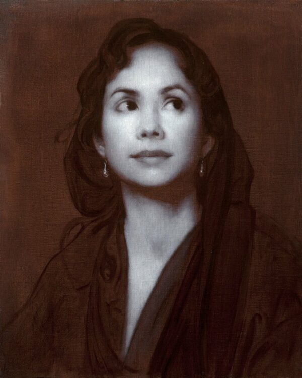 """American Legacy Fine Arts presents """"Piambura of Equivocation"""" a painting by Adrian Gottlieb."""