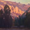 """American Legacy Fine Arts presents """"Canyon Glow"""" a painting by Michael Obermeyer."""