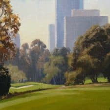 """American Legacy Fine Arts presents """"The Great Escape"""" a painting by Michael Obermeyer."""