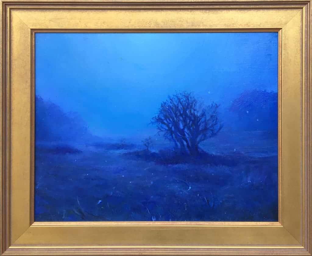 "American Legacy Fine Arts presents ""Le Secret"" a painting by Nikita Budkov."