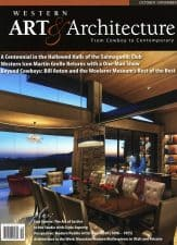 American Legacy Fine Arts presents bill Anton in Western Art & Architecture Magazine September /October 2017 Issue