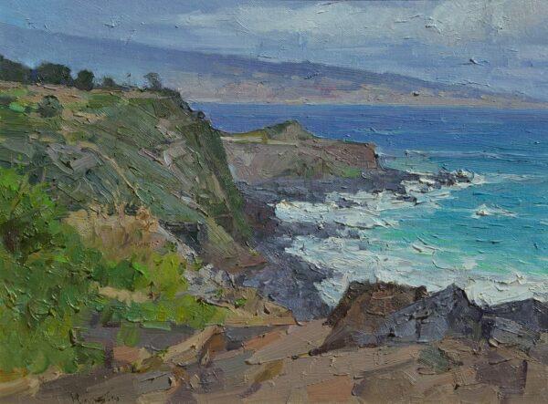 "American Legacy Fine Arts presents ""Hawaii Coastline"" a painting by Mian Situ."
