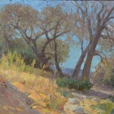 """American Legacy Fine Arts presents """"Noon at Eaton Canyon"""" a painting by Mian Situ."""