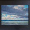 "American Legacy Fine Arts presents 'Lake Washington Three"" a painting by Tony Peters."