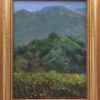 """American Legacy Fine Arts presents """"Eaton Canyon Mist and Flowers' a painting by William Stout."""