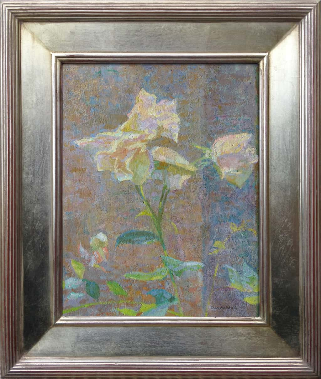 """American Legacy Fine Arts presents 'Sunlight Shimmer'"""" a painting by Daniel W. Pinkham."""