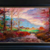 """American Legacy Fine Arts presents """"The Kingdom; Upstate New York, Adirondacks"""" a painting by George Gallo."""