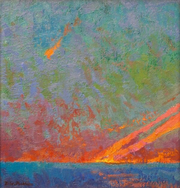 """American Legacy Fine Arts presents """"Summer Show"""" a painting by Daniel W. Pinkham."""