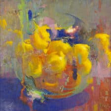 """American Legacy Fine Arts presents """"Lemon Hearth"""" a painting by Christopher Cook."""